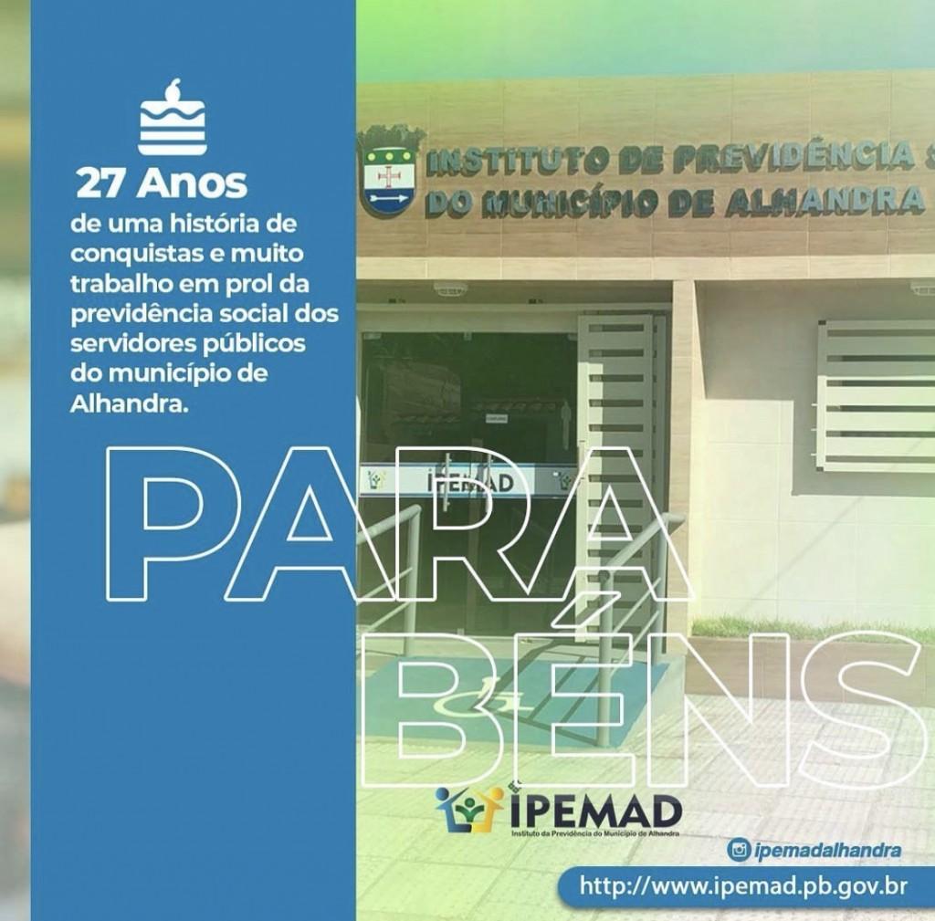 27 ANOS DE MUITO TRABALHO E DEDICAÇÃO AOS SERVIDORES