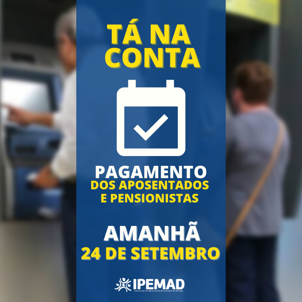 PAGAMENTO ANTECIPADO - SETEMBRO